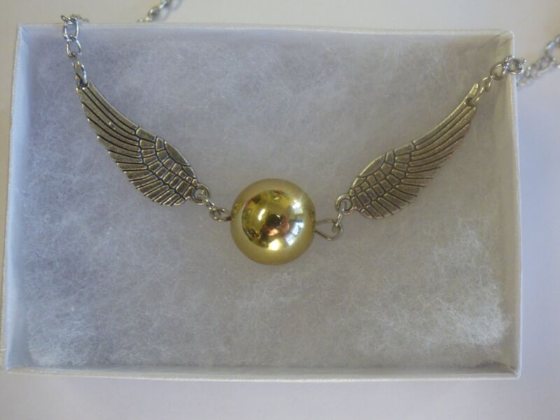 $6.49 • Buy Harry Potter Golden Snitch Bracelet Double Wings - US SELLER FAST FREE SHIPPING