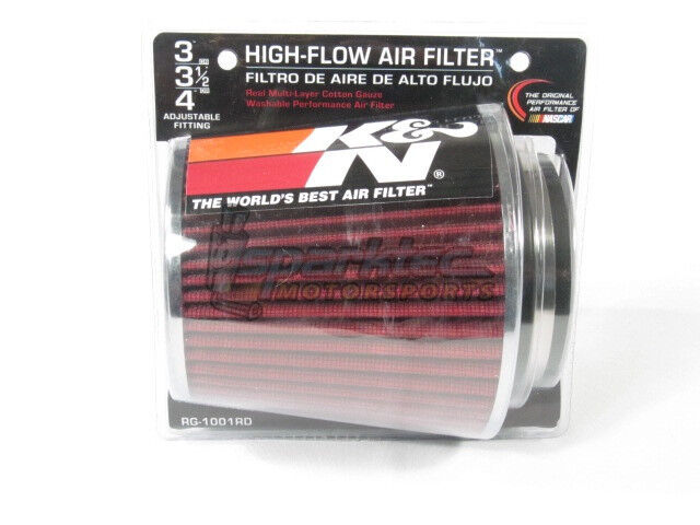 RU-3130 K/&N Round Tapered Clamp-On Air Filter