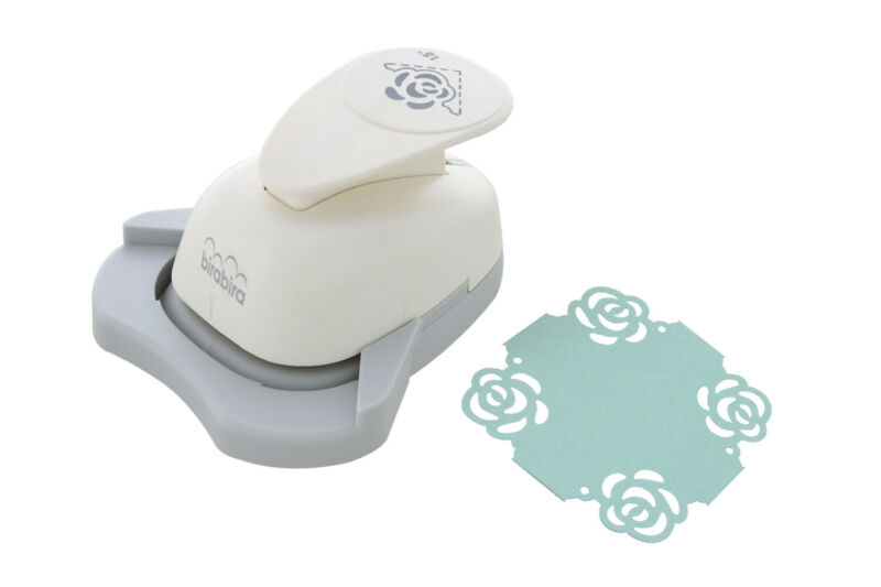 $13.99 • Buy 1.5 Inch Rose Shape Paper Craft Lever Corner Punch Scrapbooking Cards Arts NEW