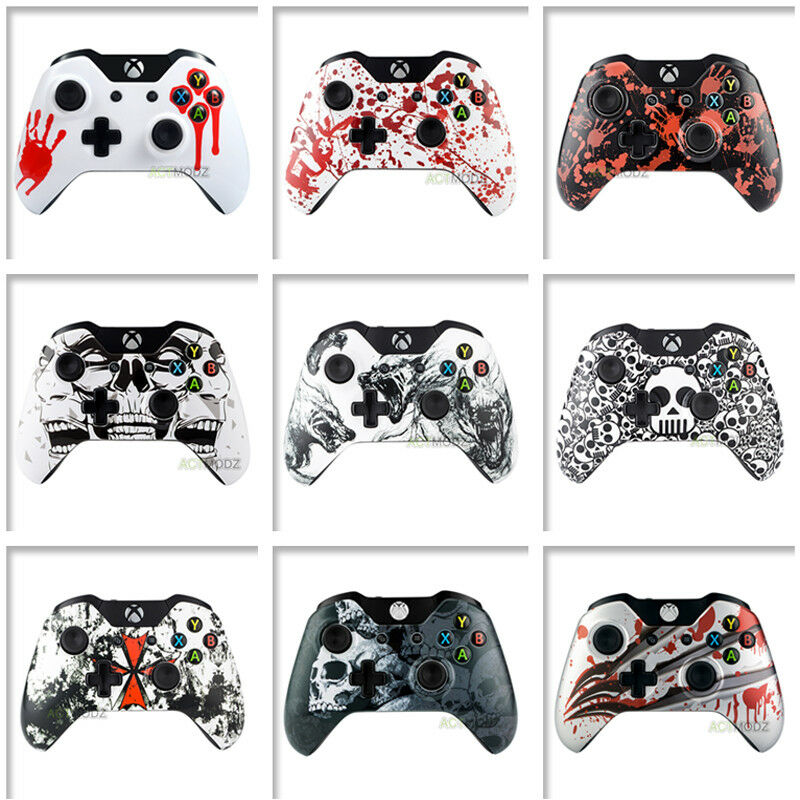 Patterned Front Shell Faceplate Repair For Microsoft Xbox One Controller • 7.59$