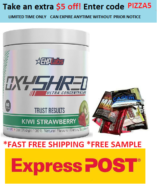 AU64.95 • Buy Ehplabs Oxyshred Ehp Labs Oxy Shred Thermogenic Fat Burning.express New Look
