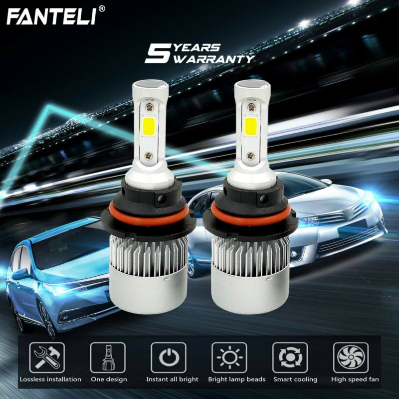 HB5 9007 CREE LED 1300W 195000LM Headlight Conversion Kit Bulb White 6000K HI//LO