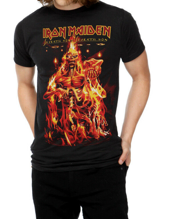 9c315c6f14 Iron Maiden SEVENTH SON OF A SEVENTH SON T-Shirt NEW Licensed & Official  RARE