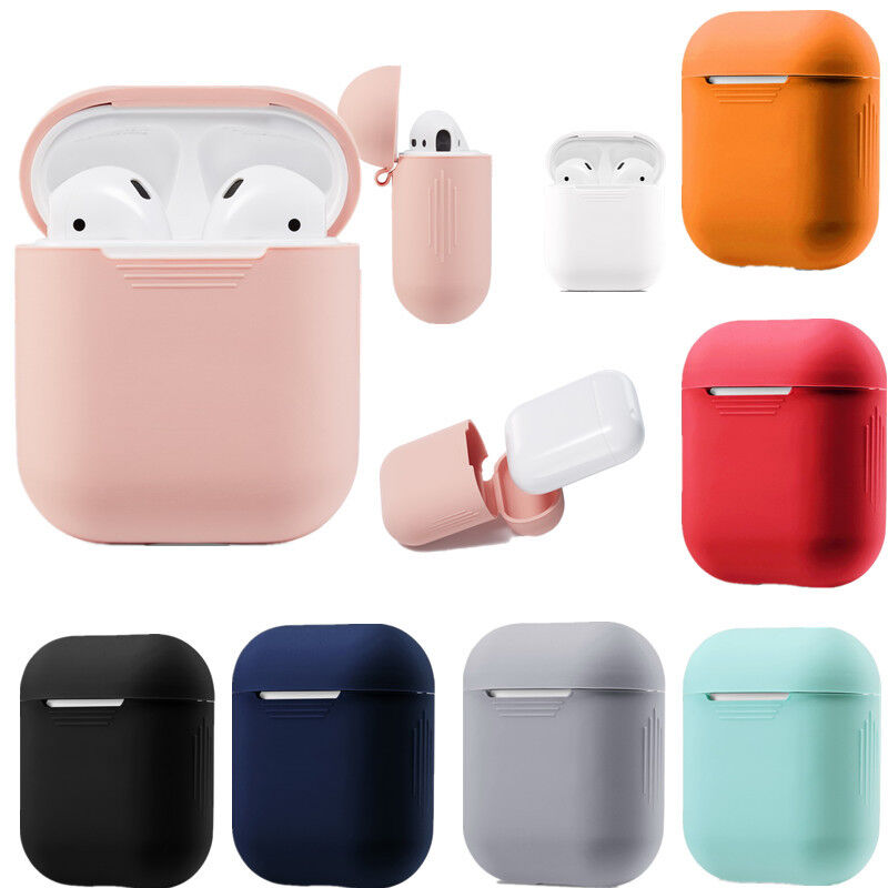 $ CDN2.62 • Buy For Apple AirPods Case Protect Silicone Cover Skin AirPod Earphone Charger Cases