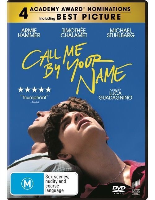 AU14.85 • Buy Call Me By Your Name (DVD, 2018), NEW SEALED AUSTRALIAN RELEASE REGION 4