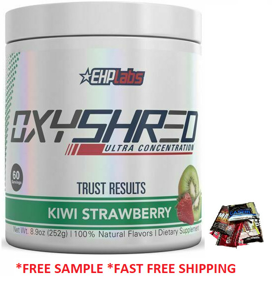 AU64.95 • Buy Ehplabs Oxyshred 60 Serves  Flavour Ehp Labs Oxy Shred Burner