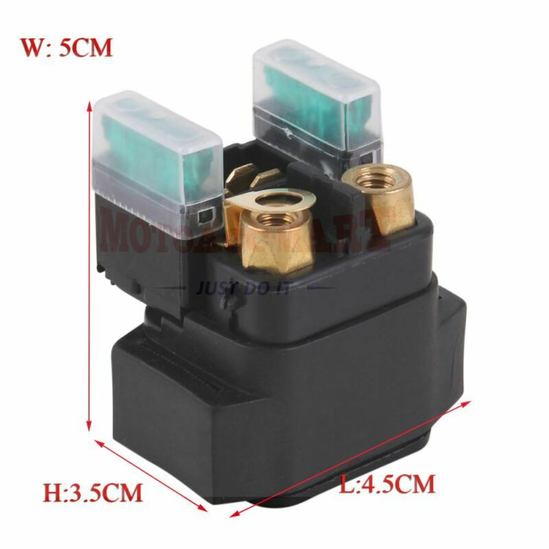 Starter Solenoid Relay For Yamaha YFM 350 400 450 660 700 Grizzly Big Bear 4x4 • 6.35$