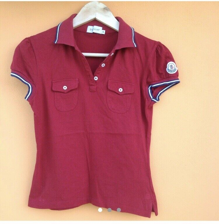 outlet store 0aa52 39fa5 moncler polo donna