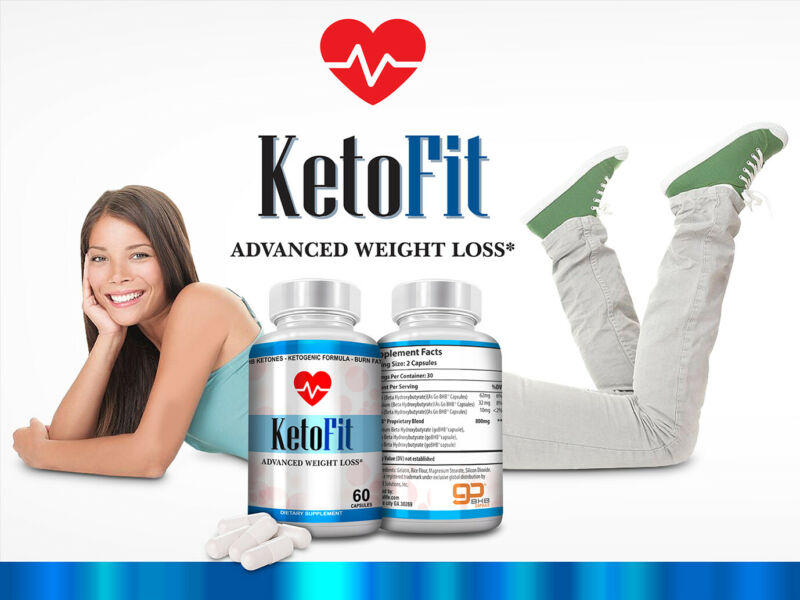$23.42 • Buy Keto Fit Advanced Weight Loss Formula, Supress Apetite Ketosis Booster