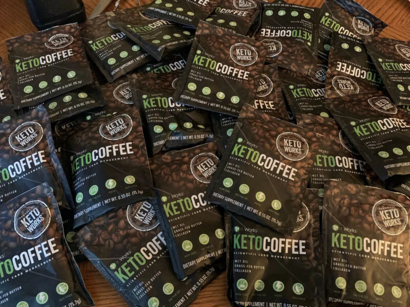 $2.80 • Buy It Works! Keto Coffee Single Serve Packets - New!