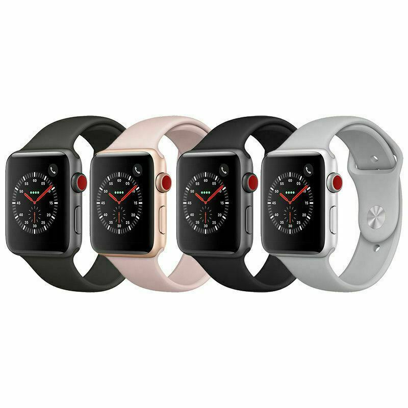 $ CDN239.99 • Buy Apple Watch Series 3 Aluminum 38mm A1860/ 42mm A1861 GPS+Cellular For IPhone