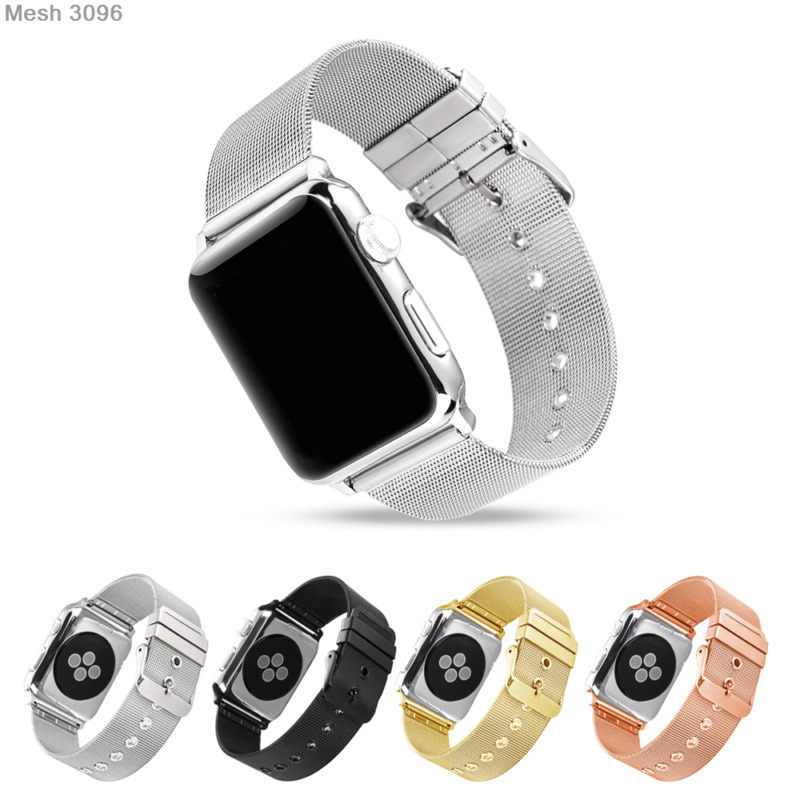 $ CDN8.27 • Buy 38/42mm Milanese Wristwatch Bands Replace Strap For Apple Watch Series 4 3 2 1