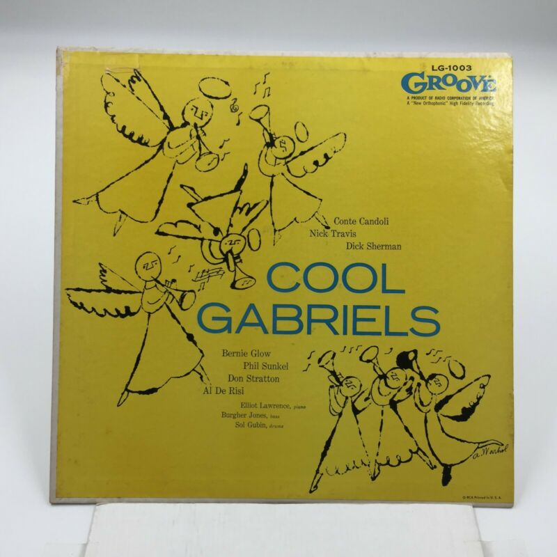 $499.99 • Buy  Andy Warhol Art COVER    COOL GABRIELS  Self-Titled   1956 Groove LG-1003 PROMO