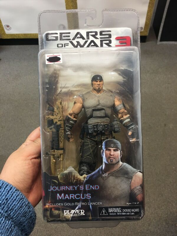 $27 • Buy Gears Of War 3 Series 3 Journey's End Marcus With Gold Retro Lancer 7 Inch Acti