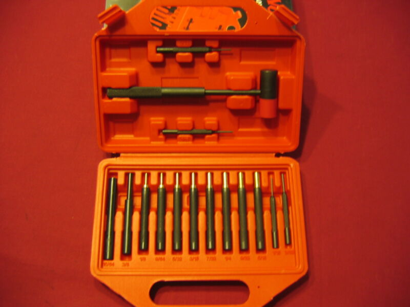 Winchester Gunsmith Professional Grade Brass + Steel Punch Set With Hammer    • 28.95$