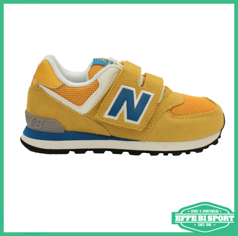 new balance yellow bambino