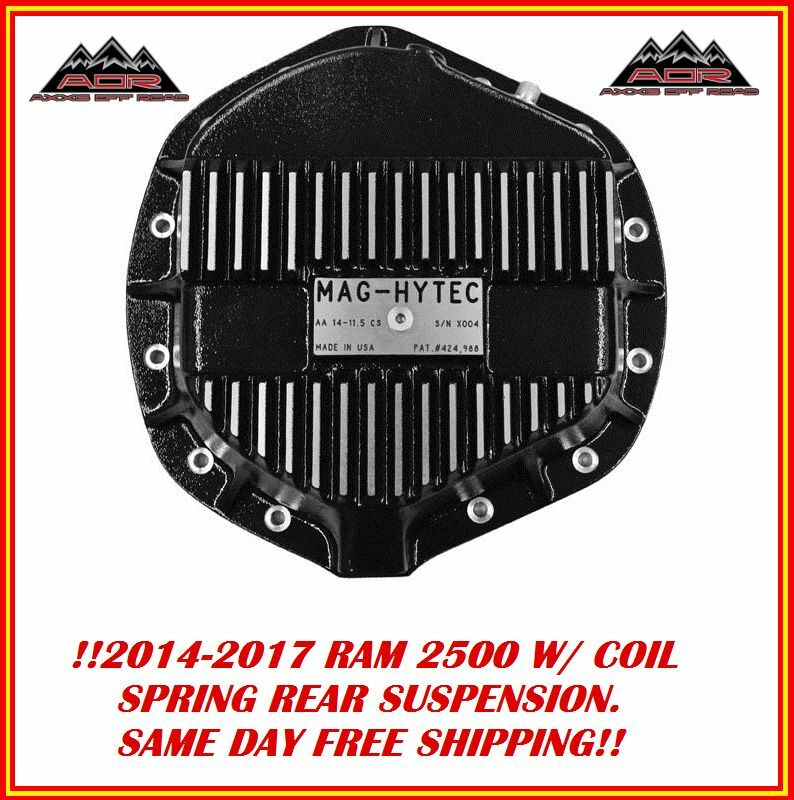 Mag Hytec Rear Differential Cover Fits 2014-17 Dodge Ram 2500 Diesel Gas W COILS • 289.75$