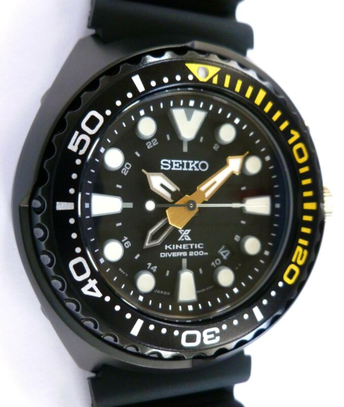 Seiko Prospex Kinetic GMT Diver's 200m Mens Watch - SPECIAL EDITION - NEW • 525$