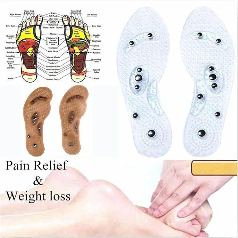 $ CDN4.28 • Buy MindInSole Acupressure Magnetic Massage Foot Therapy Reflexology Pain Relief
