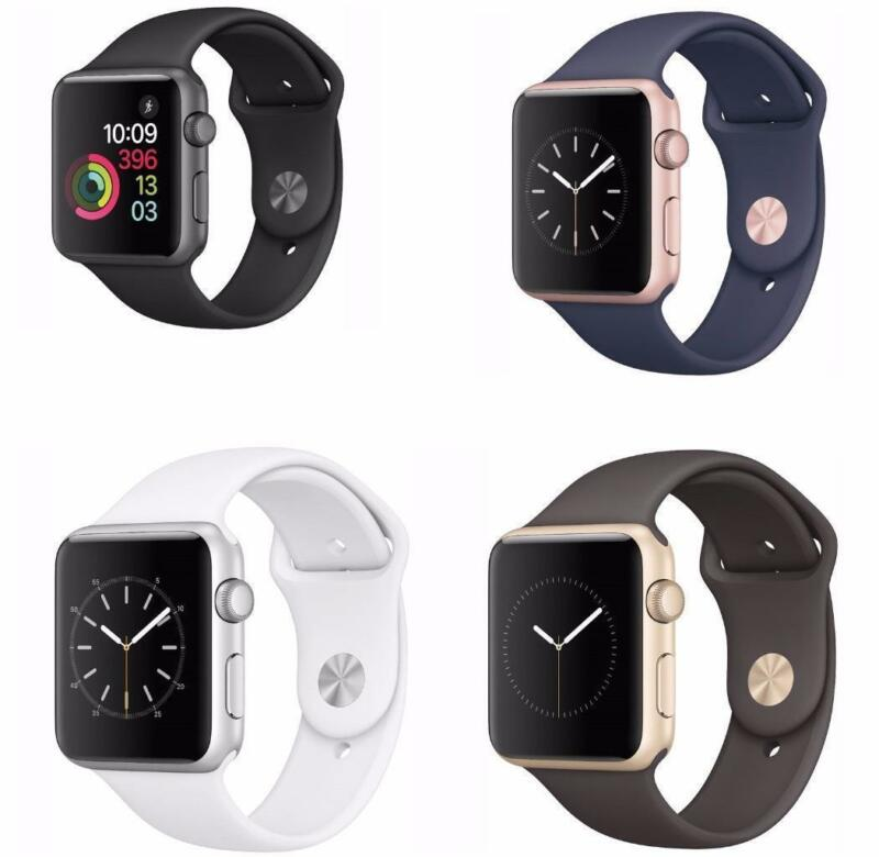 $ CDN189.99 • Buy Apple Watch Series 2 38mm/42mm Sports Band Choice Of Colors Refurbished