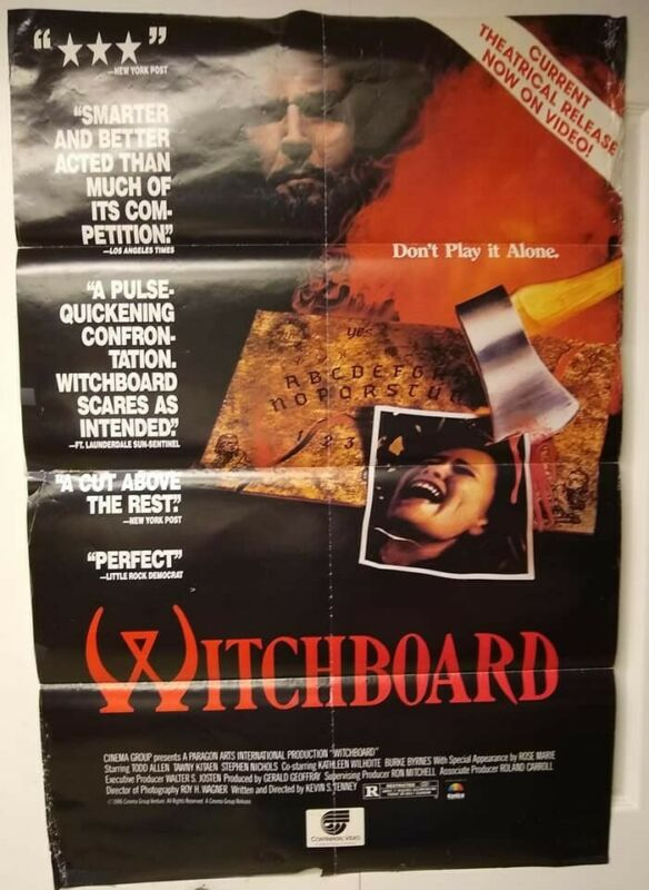$ CDN26.09 • Buy Movie Posters, Witchboard, Pretty Cool Poster, Has Some Flaws, Check Picture!!!!
