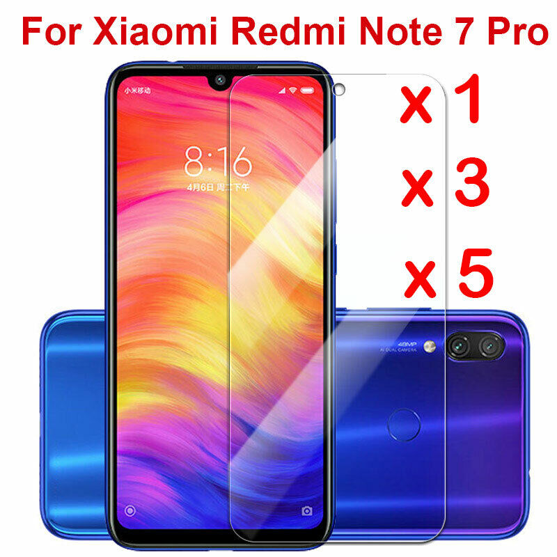 $0.76 • Buy For Xiaomi Redmi Note 7 Tempered Glass Screen Protector Protection Clear Sl