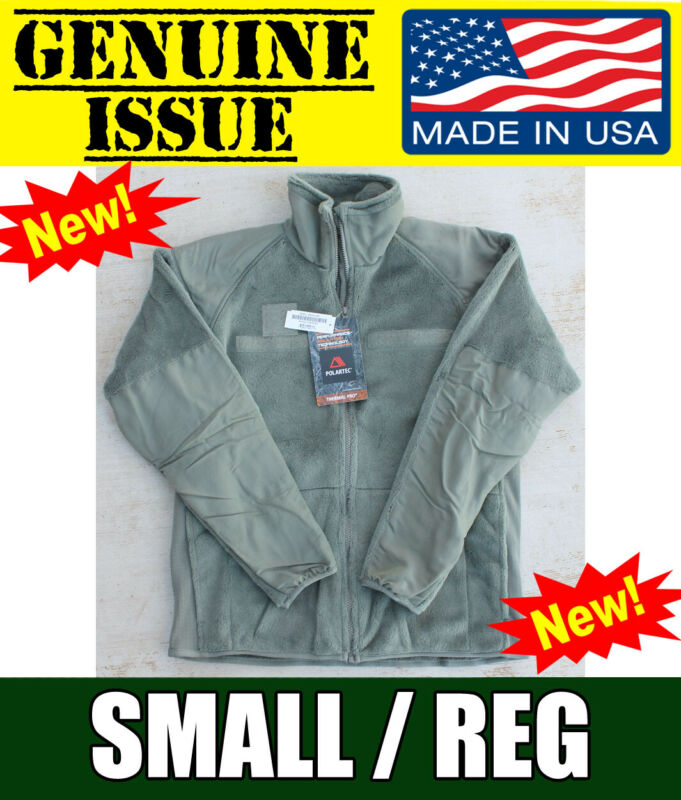 Genuine US Military Polartec Thermal Pro Jacket Gen III 3 USMC ARMY ECWCS Fleece • 59.55$