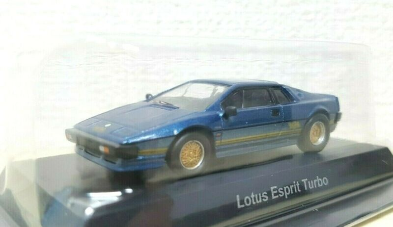 $ CDN27.02 • Buy Kyosho 1/64 LOTUS ESPRIT TURBO BLUE Diecast Car Model