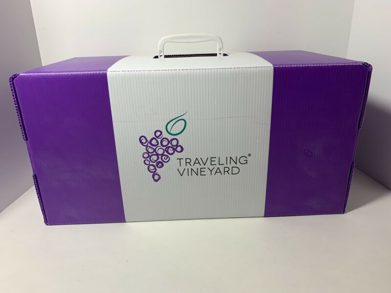 Traveling Vineyard Sales Wine Tasting Kit • 50$