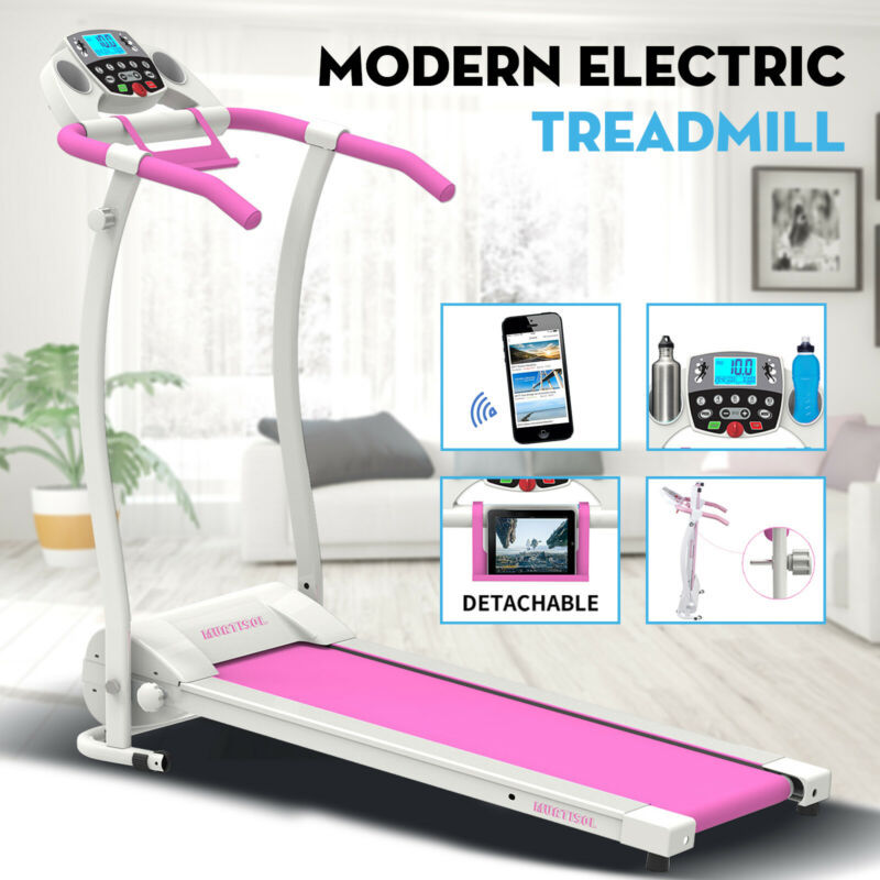 AU281.90 • Buy Electric Treadmill Incline Home Gym Running Exercise Machine Fitness Equipment