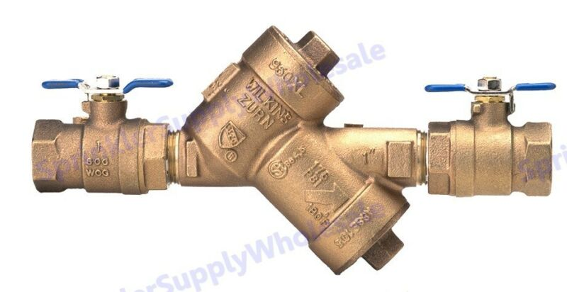 $154.62 • Buy Wilkins 3/4  950XL Double Check Valve Assembly 34-950XL Backflow Preventer DCV