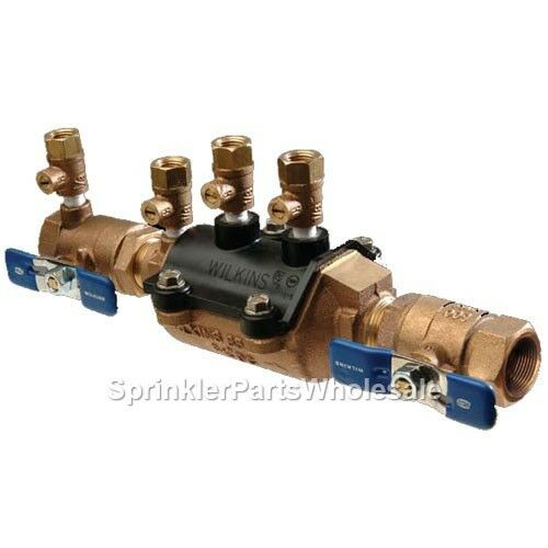 $129.90 • Buy Wilkins 1  350 Double Check Valve Backflow Preventer Assembly 350SH  1-350