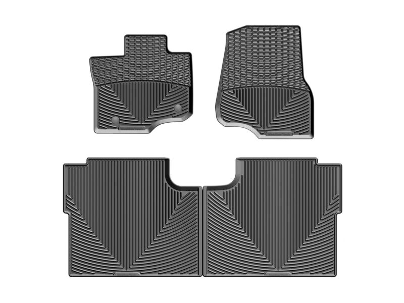 WeatherTech All-Weather Floor Mats For Ford F-150 Crew Cab 2015-2020 Black • 124.95$