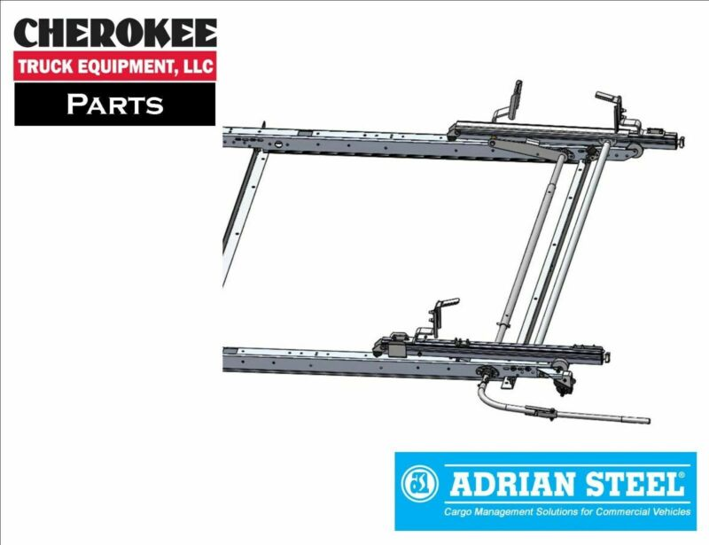 $893.05 • Buy Adrian Steel  DDLR61FTL, Single Drop-Down Ladder Rack For Ford Transit, Low Roof