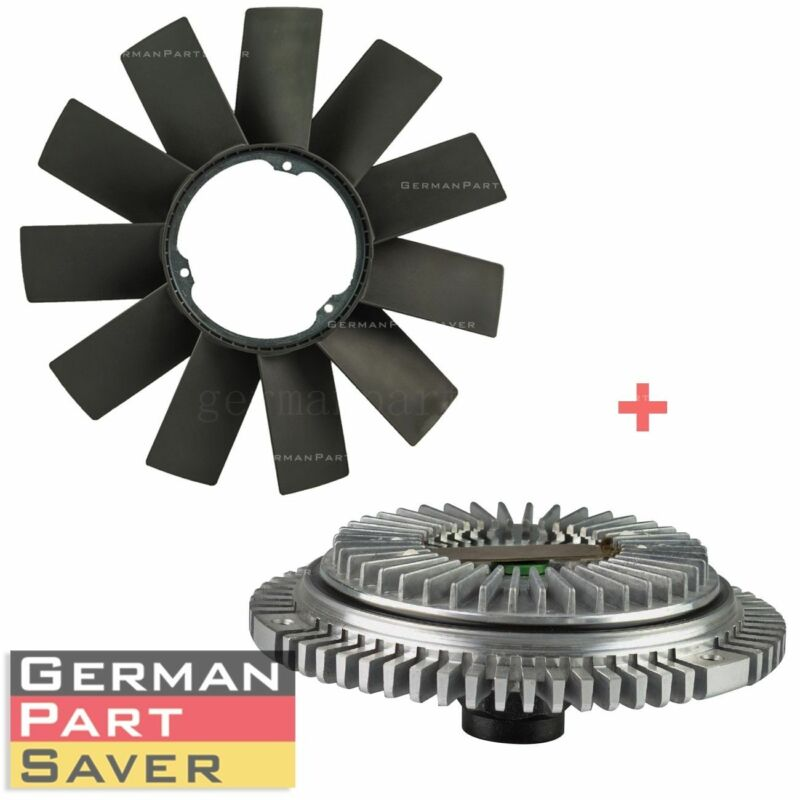 $36.55 • Buy FAN BLADE + FAN CLUTCH KIT For BMW E36 E46 E53 E34 E32 E39 323i 325i X5 Z3 528i