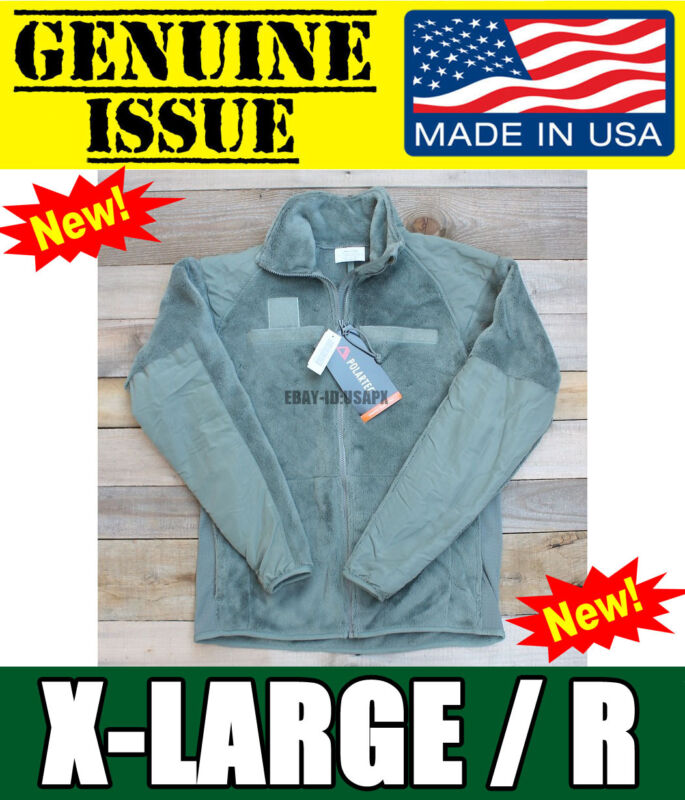 US Military Polartec Thermal Pro Jacket Gen 3 USMC ARMY ECWCS Fleece X-LARGE XL • 44.55$