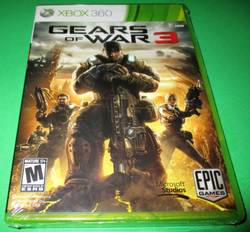 $14.95 • Buy Gears Of War 3 Microsoft Xbox 360 *Factory Sealed! *Free Shipping!