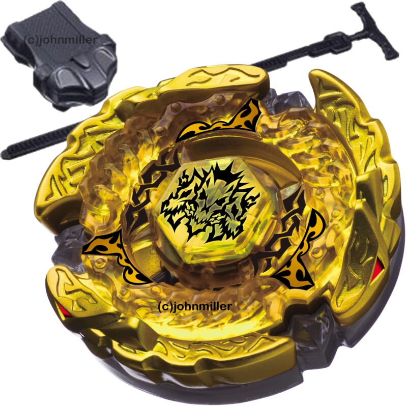 $7.26 • Buy Hades / Hell Kerbecs Metal Masters 4D Beyblade Starter Set W/ Launcher & Ripcord