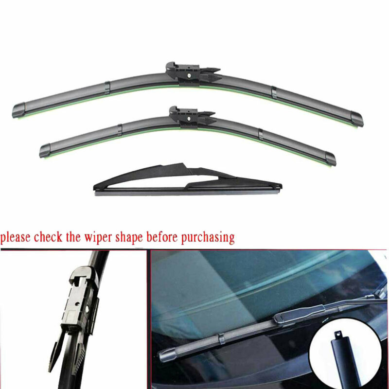 FOR Mercedes Benz GL320 ML320 R320 Pair Of Front Windshield Wiper Blades 2007-09 • 15.68$