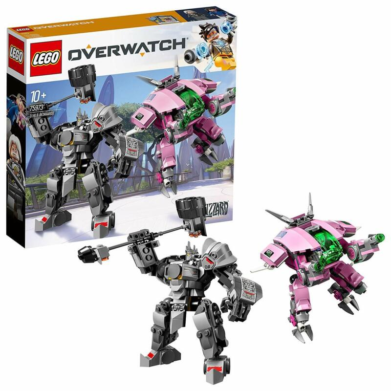 AU57.19 • Buy LEGO Overwatch D.Va & Reinhardt 75973 Playset Toy