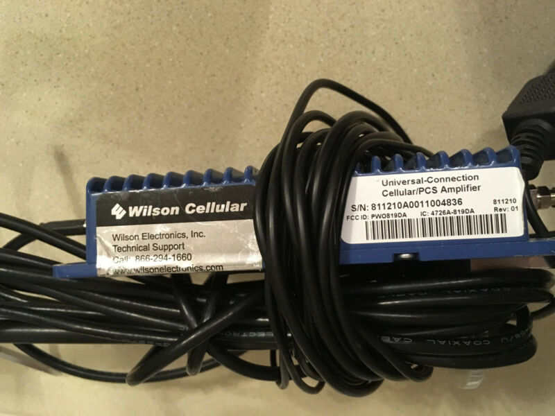 Wilson Cellular Trucker Antenna Dual Band Full RV Car Boat Signal Booster Kit • 219.84$