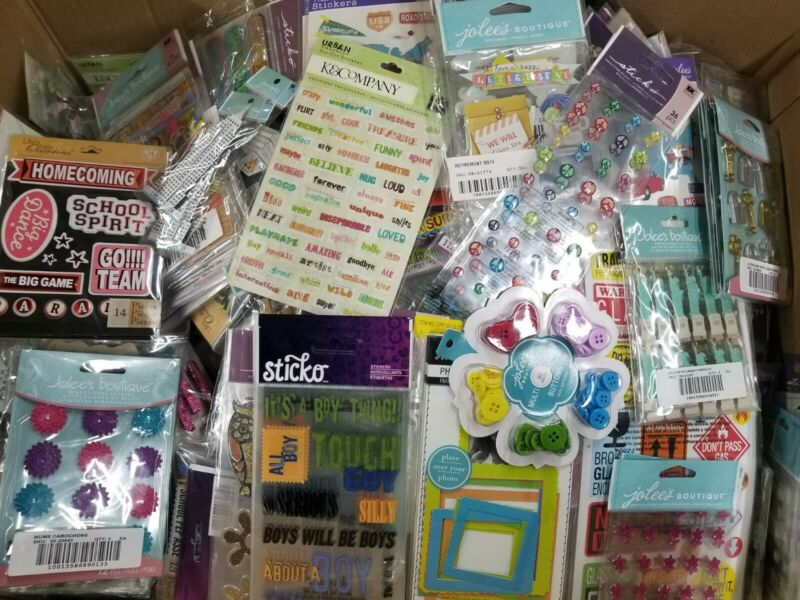 $25.95 • Buy HUGE Lot Of 75 K&Company,Sticko,Jolee's,Stickers And Scrapbooking Embellishments