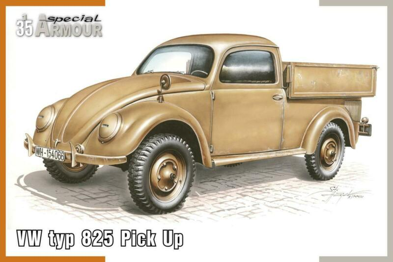 $26.95 • Buy VW Volkswagen Typ 825 Pick Up (1/35 Model Kit, Special Armour 35007)