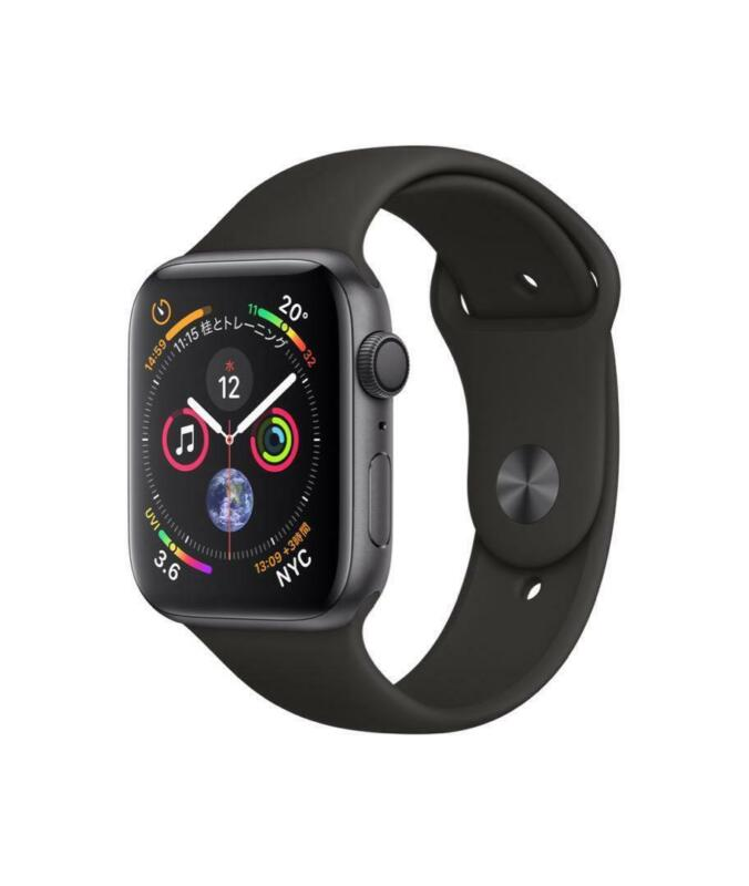 $ CDN549.99 • Buy Apple Watch Series 4 44mm GPS + Cellular STAINLESS STEEL CASE + SPORTS BAND