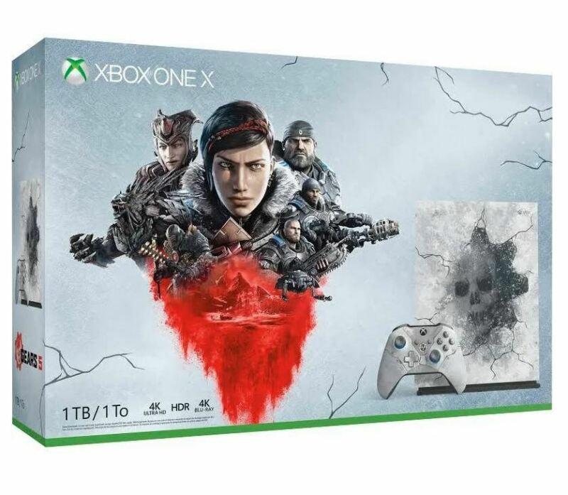 $349 • Buy Xbox One X 1TB Console – Gears 5 Limited Edition Bundle