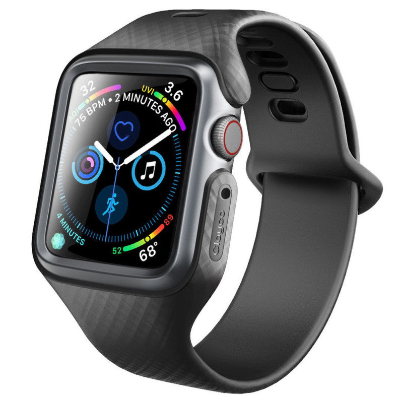 $ CDN17.62 • Buy For Apple Watch 4/3/2/1 Band Case, Clayco Slim Thin Bumper Cover W/ Strap Bands
