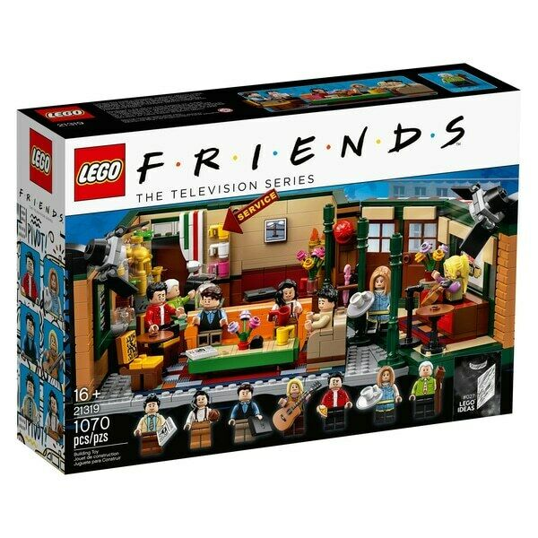 $84 • Buy LEGO Ideas Central Perk 21319 * Friends The Television Series