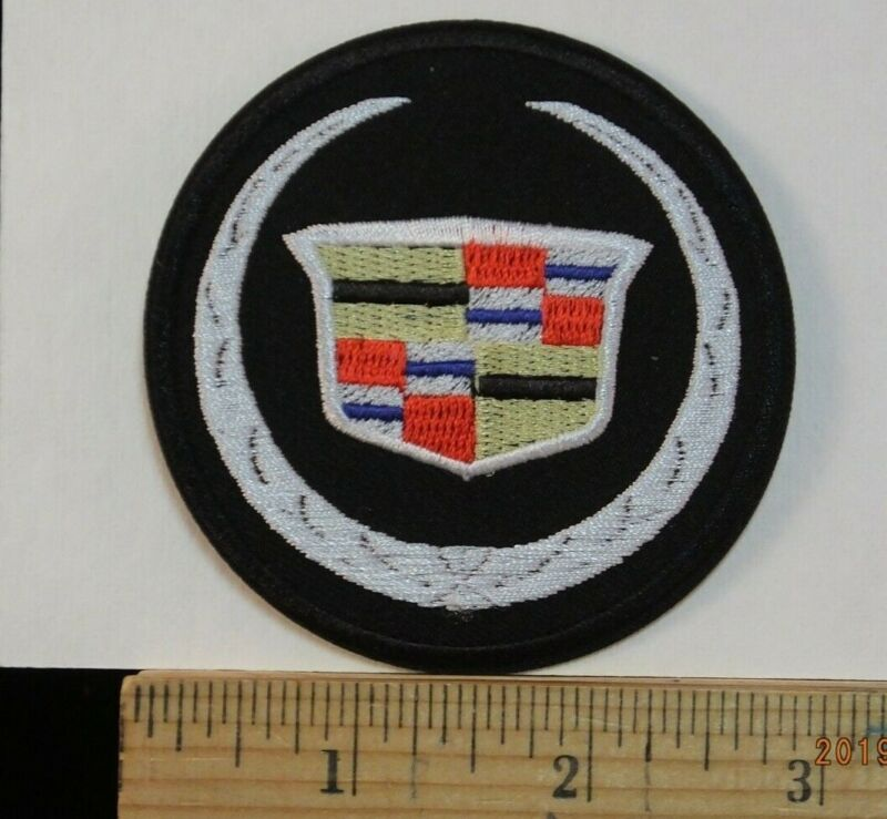 Cadillac Emblem Iron-On Embroidered Patch 3  • 5.99$
