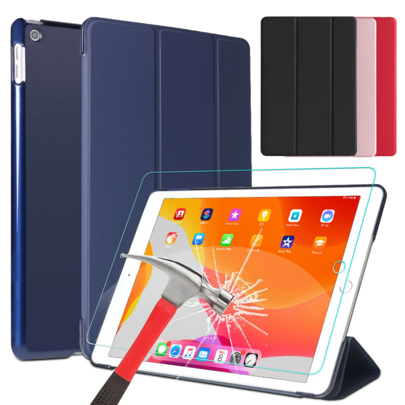 $19.97 • Buy For IPad 7th Gen Generation 10.2 Inch Case Cover+Tempered Glass Screen Protector
