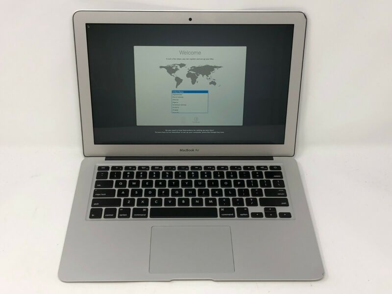 $309.99 • Buy MacBook Air 13 Early 2015 MJVE2LL/A 1.6GHz I5 8GB 256GB SSD - Fair Condition